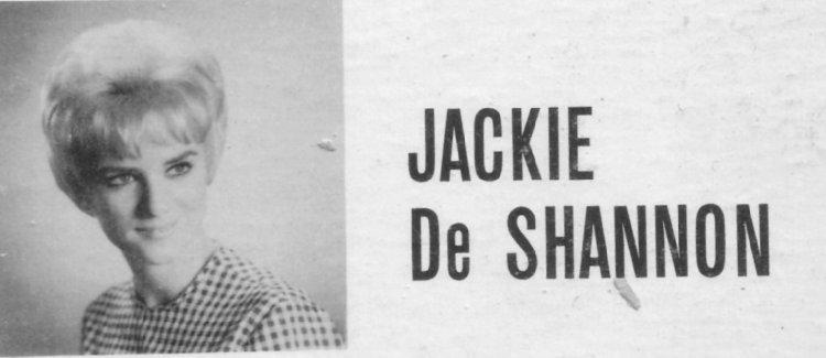 JACKIE De SHANNON