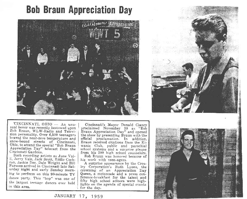 Bob Braun Appreciation Day