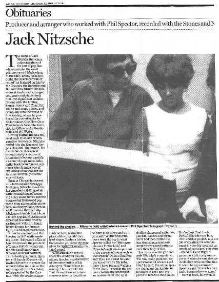 Jack Nitsche Obituary Page 1